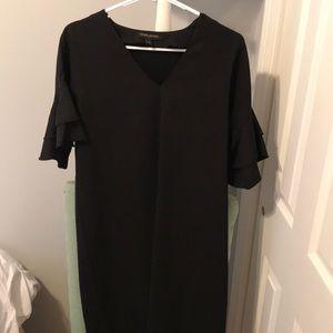 Black banana republic shift dress